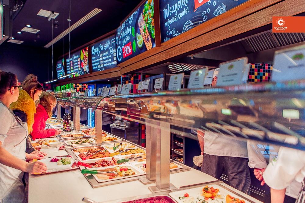 Ponowne otwarcie Kuchni Marche w Lubinie.